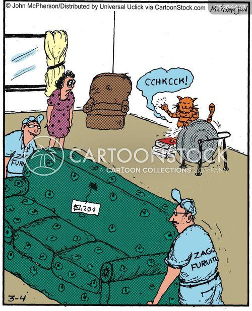 settees cartoon