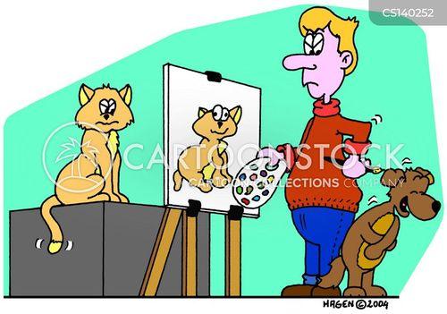 pooches cartoon
