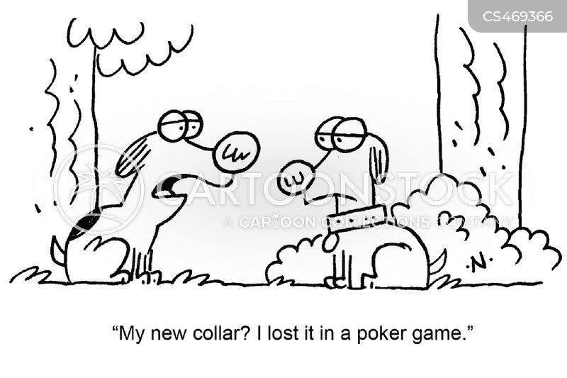 gambling problem cartoon