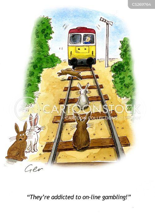 rail line cartoon
