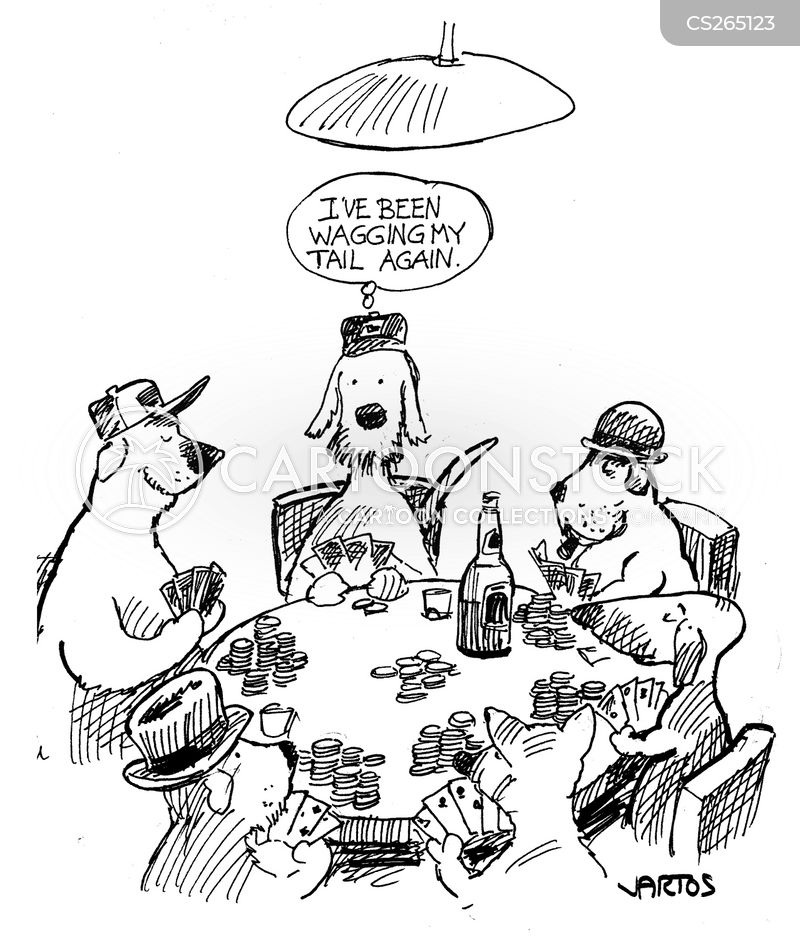 poker chips cartoon