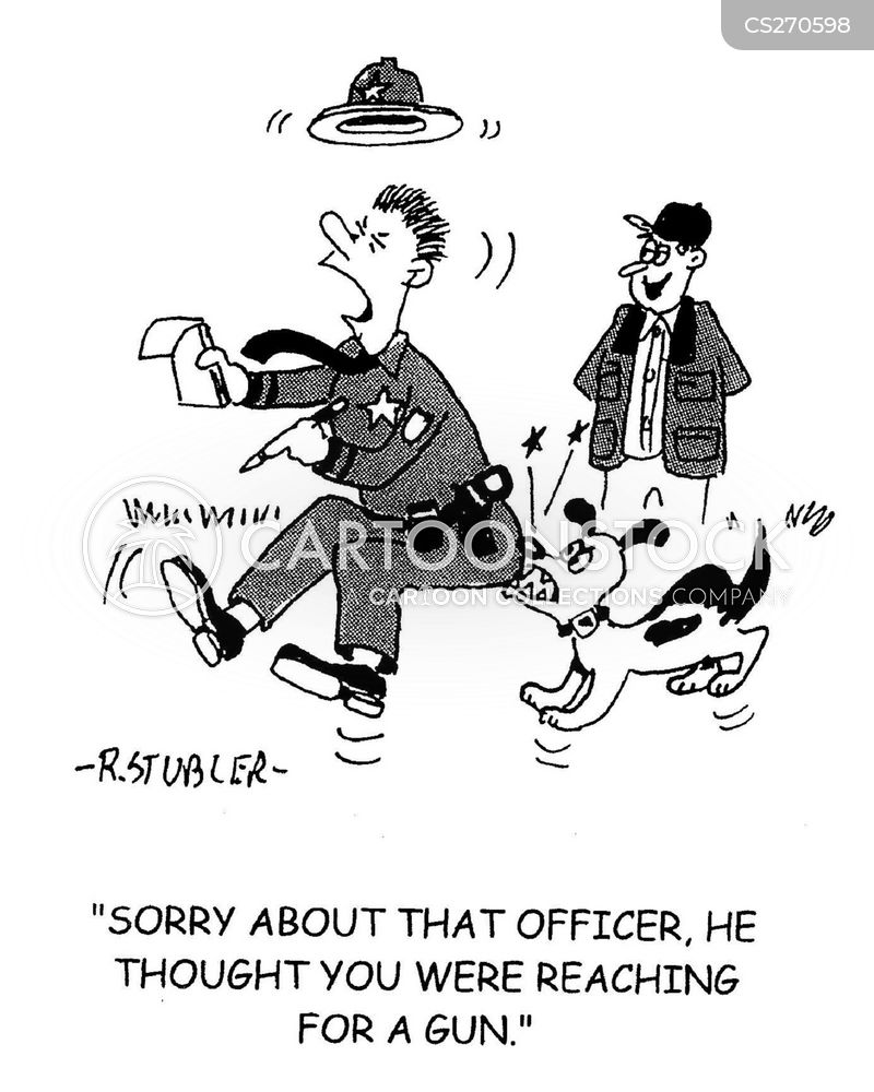 park warden cartoon