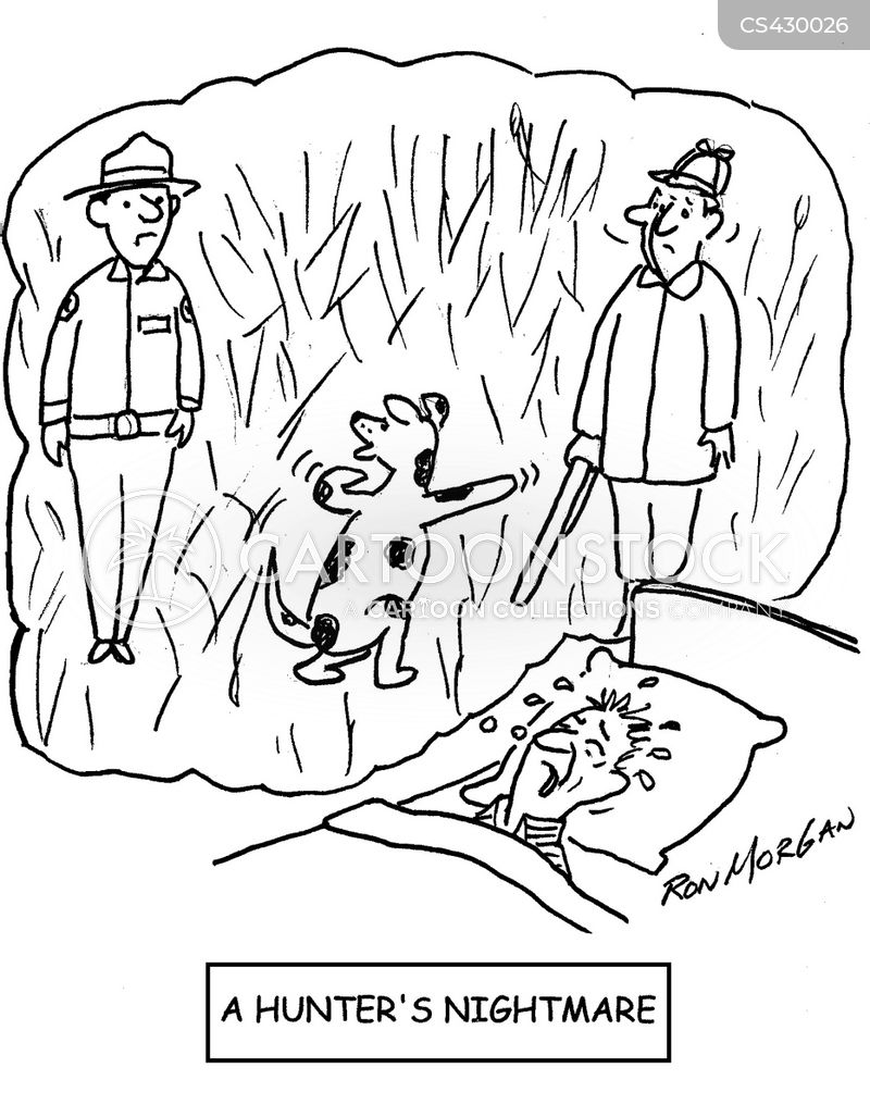 gamekeeper cartoon