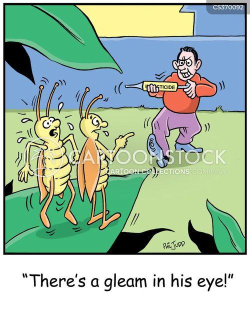 exterminate cartoon
