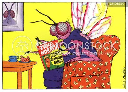 insect spray cartoon