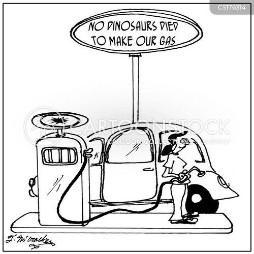petrol stations cartoon