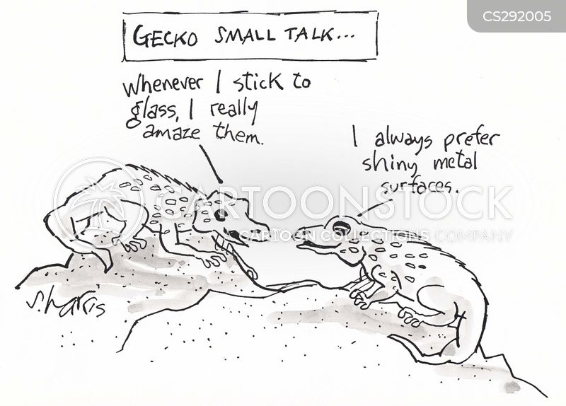geckos cartoon