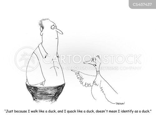 gender identity disorder cartoon