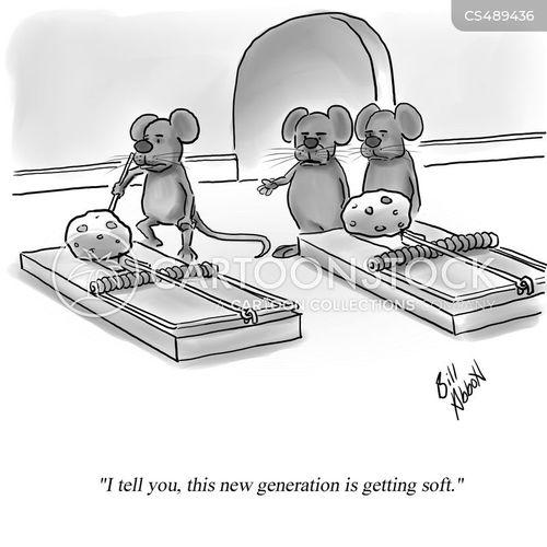 mice-trap cartoon