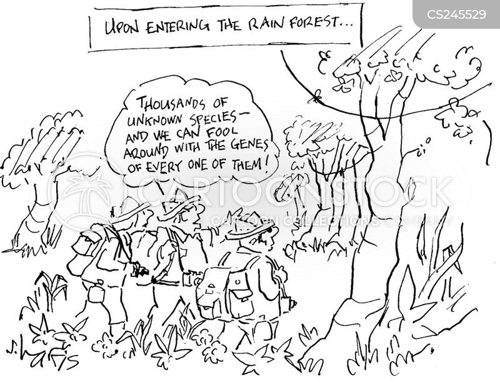 rare species cartoon