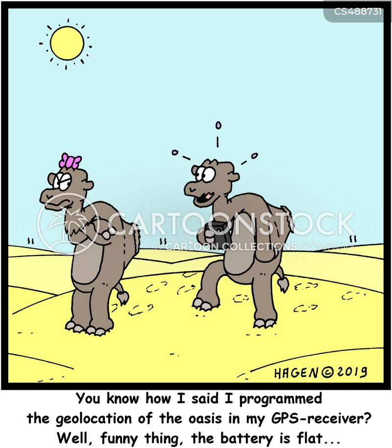 flat batteries cartoon