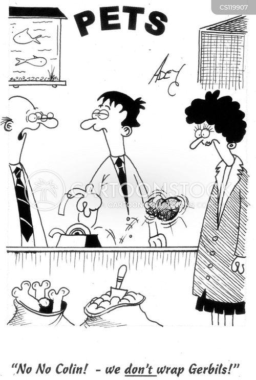 gerbil cartoon