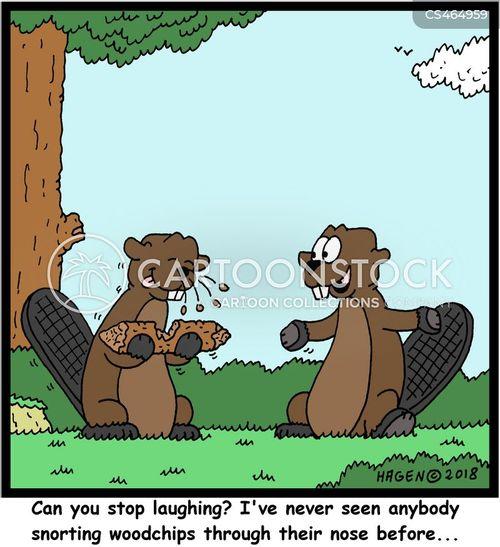 giggling cartoon
