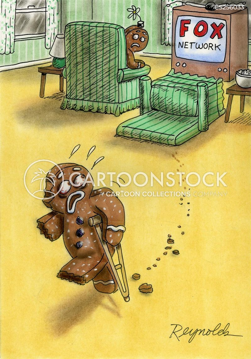 the gingerbread man cartoon
