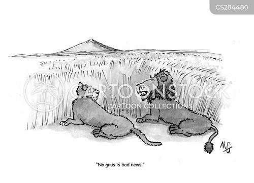 gnus cartoon