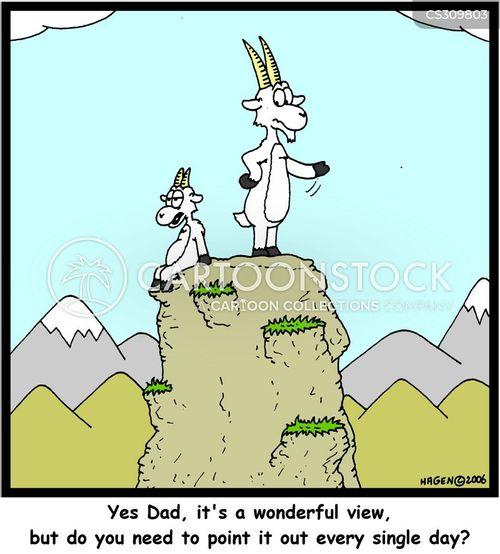 wonderful view cartoon