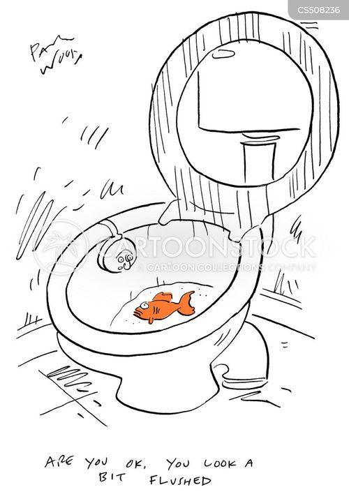 stressful situation cartoon