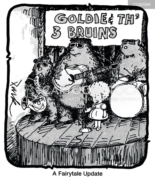drummed cartoon