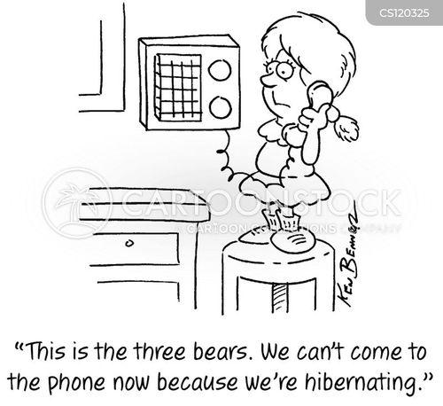 hibernations cartoon