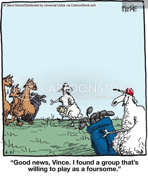 cunning cartoon