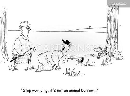 burrow cartoon
