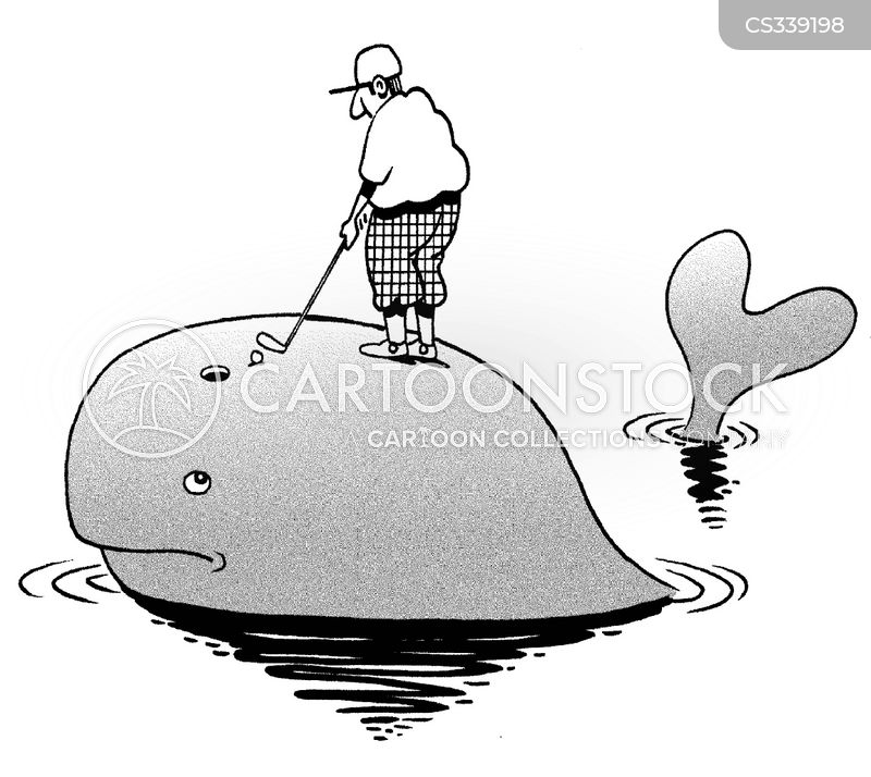 blowhole cartoon