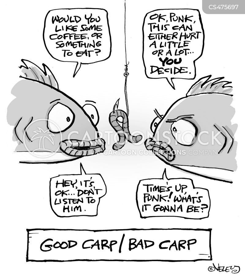 carps cartoon