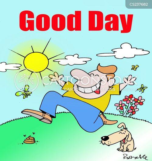 joys of spring cartoon