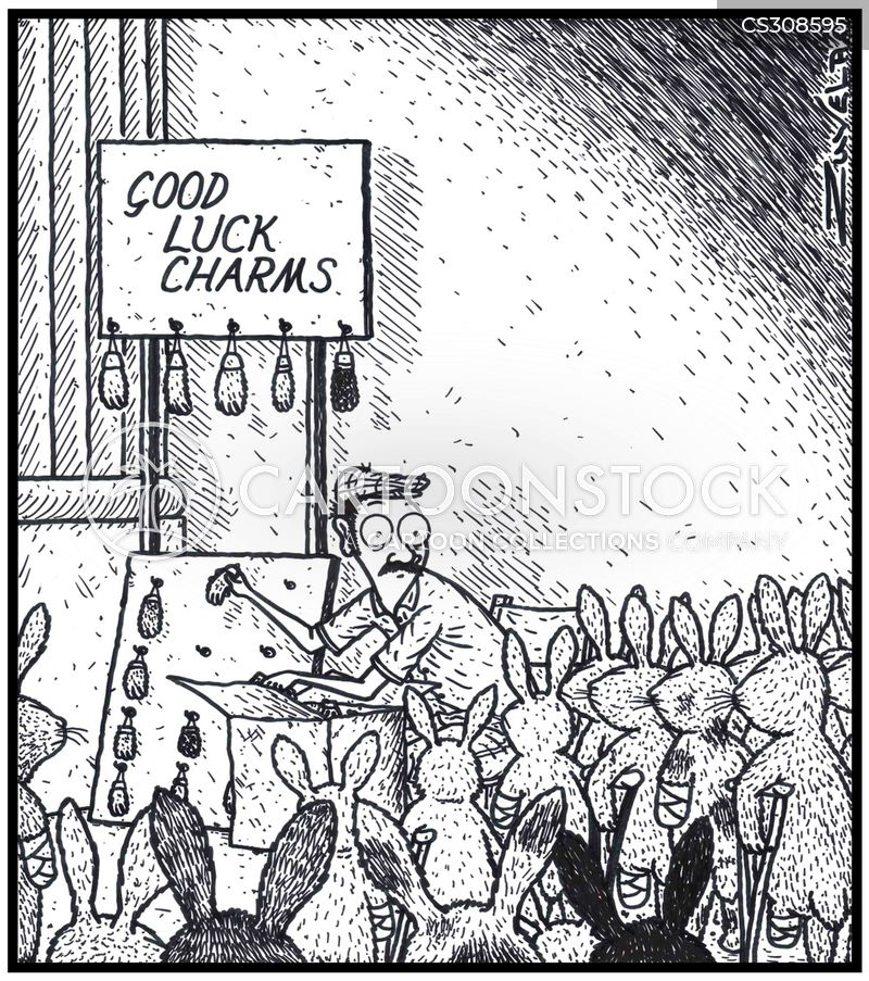 good luck charm cartoon