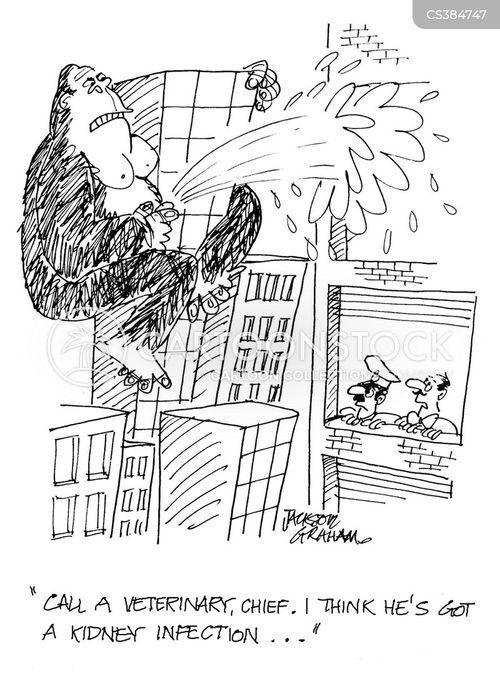 tall buildings cartoon