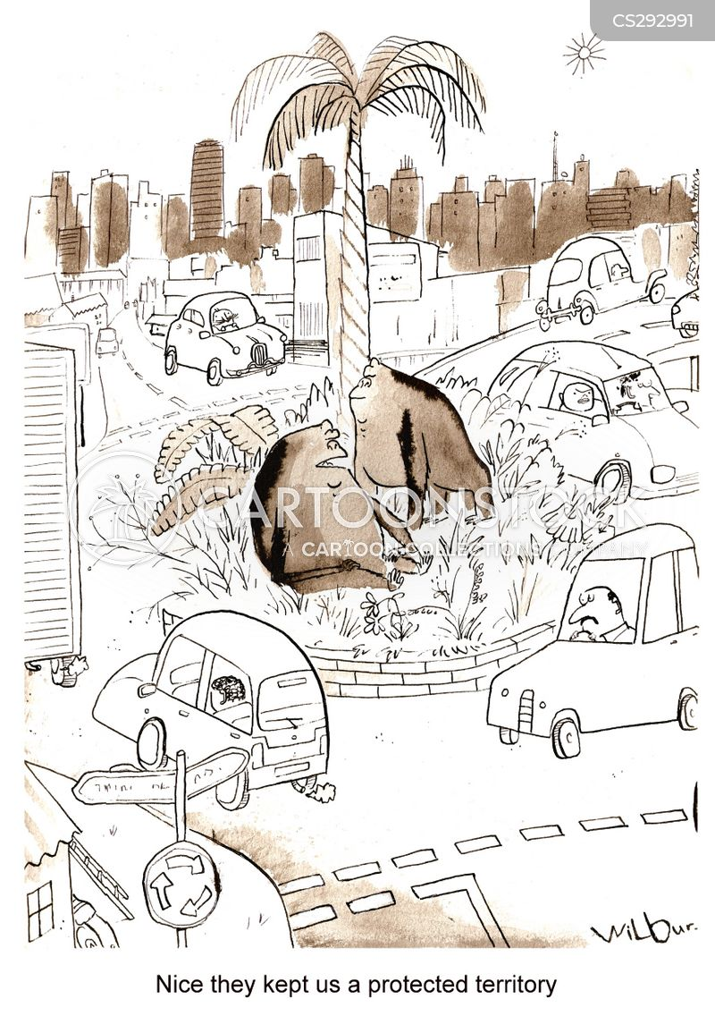 urbanization cartoon