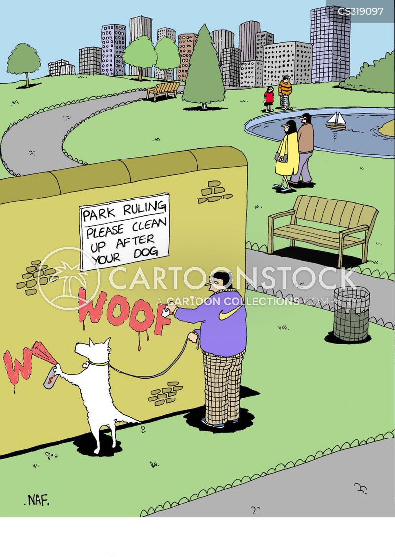 Clean Up After Your Dog Cartoons And Comics Funny Pictures From Cartoonstock