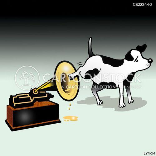 gramophones cartoon