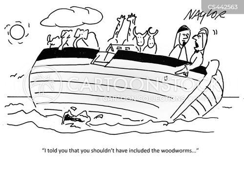 woodworm cartoon