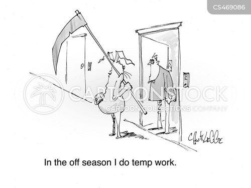 off-season cartoon