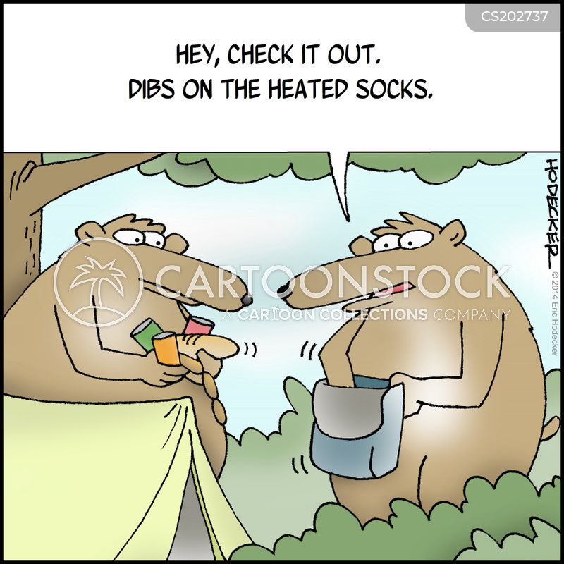 campsites cartoon