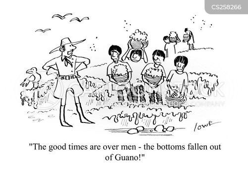 excrements cartoon