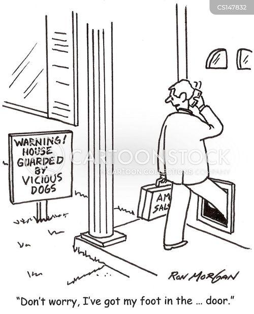 dog doors cartoon