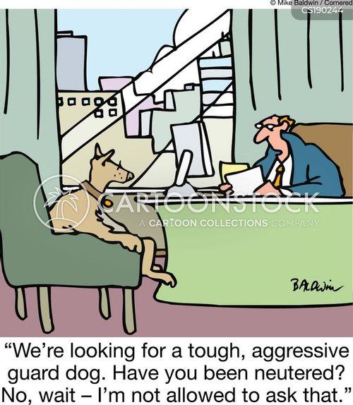 neutered cartoon