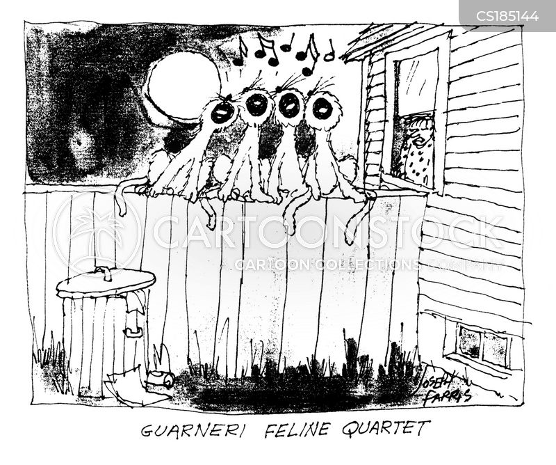 quartet cartoon