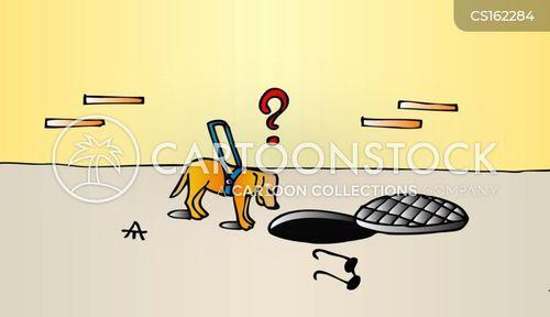 manholes cartoon