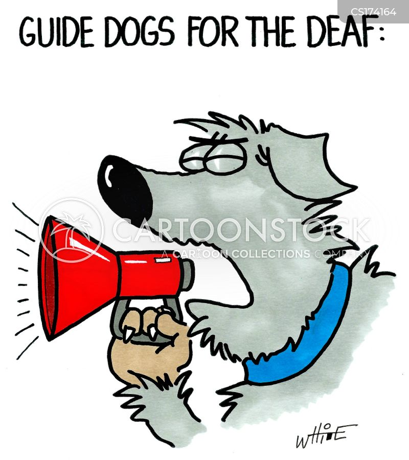 deaf cartoon