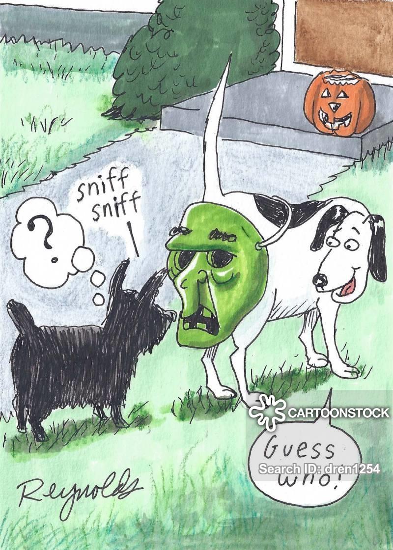halloween masks cartoon