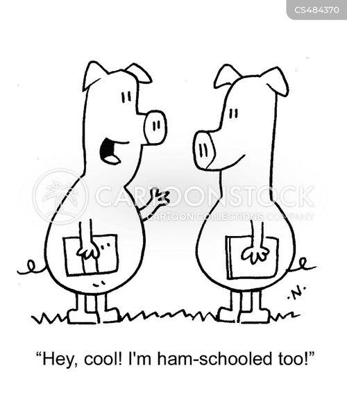 home-schools cartoon