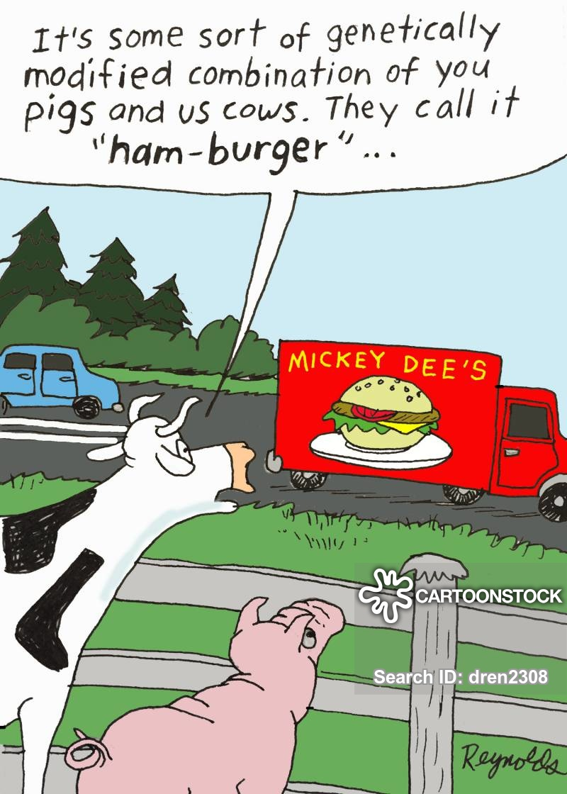 beef product cartoon