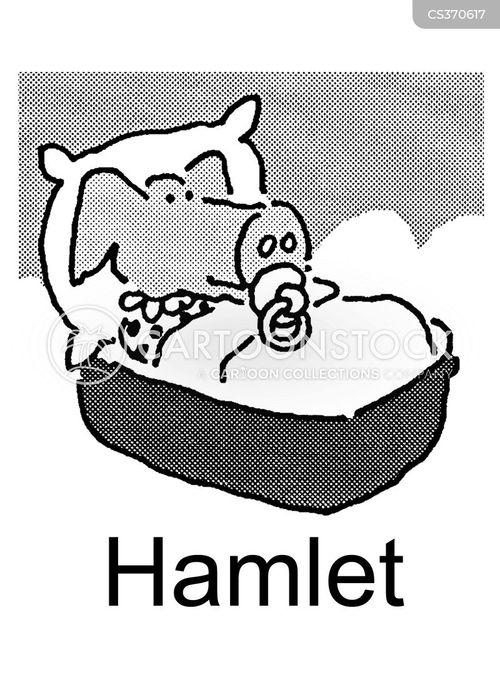 baby pig cartoon
