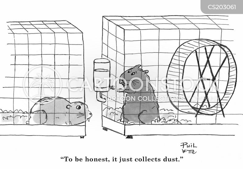exercise machines cartoon