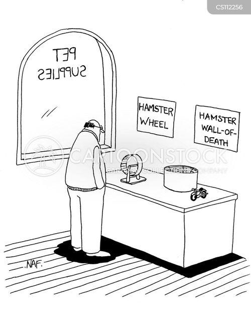 pet supplies cartoon