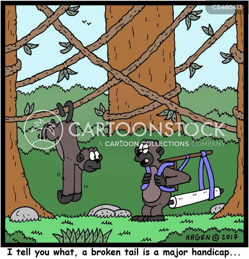 handicaps cartoon