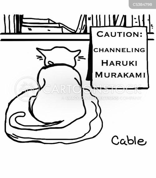 japanese literature cartoon
